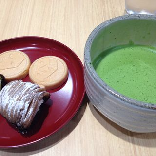 抹茶セット(よーじやカフェ渋谷ヒカリエShinQs店)