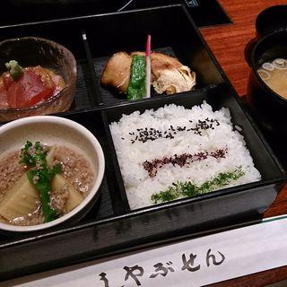 松花堂弁当(しゃぶせん 新横浜店)