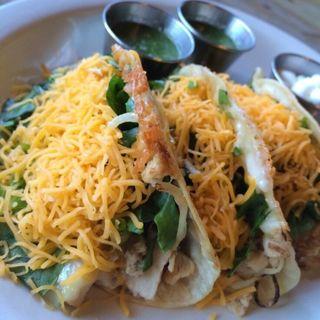 Three chicken Tacos(The pan)