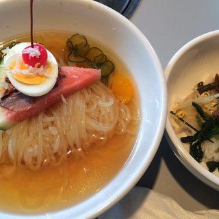 冷麺セット(焼肉レストラン大門)