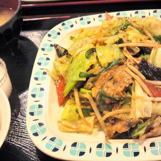 日替わり定食(豚肉と野菜炒め)(金縁 (キンエン))