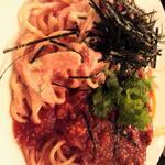 明太子クリーム&ミートソース(パスタランチ)Sサイズ