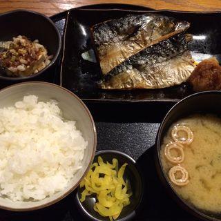 鯖の塩焼き定食(ランチメニュー)(THE 有鳥天酒場 )