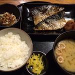 鯖の塩焼き定食(ランチメニュー)