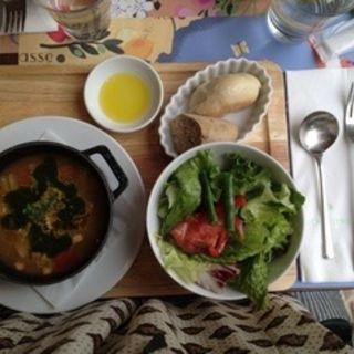 スープランチ(ロクシタンカフェ 池袋店 (L'Occitane Cafe))