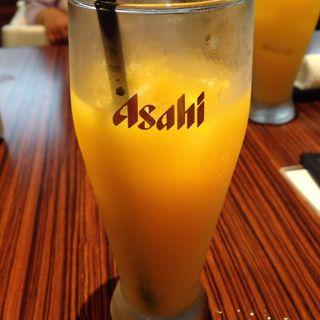 オレンジジュース(ゲンカツ 横浜モアーズ店)