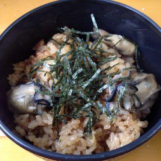 かきご飯(旬味 かきの里 )