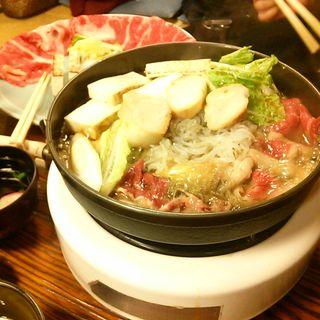 すき焼き定食(今半本店)