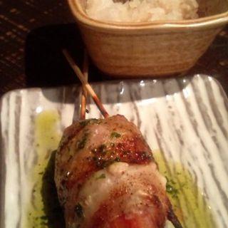 トマトのベーコン巻(串焼 博多 松介 (まつすけ))