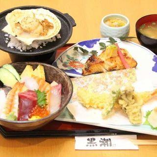 ランチセットチラシ(黒潮鮨 )
