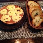 カニ味噌グラタン&ガーリックトースト