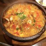 石焼海鮮キムチ丼