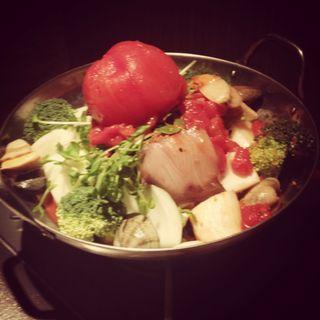 トマト鍋(農家の台所 銀座店)
