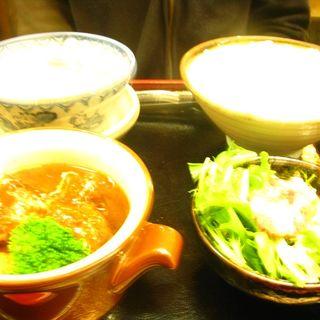 牛タンシチュー定食(夜)(牛たん炭焼 利休西口本店)