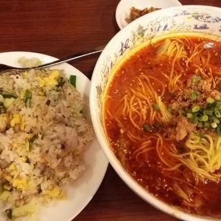 坦々麺セット(大明担担麺)