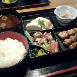 串焼き定食(鳥光 須磨本店 (とりみつ))