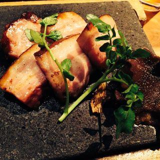 イベリコ豚の岩塩焼き(和食 えん 東京ドームシティミーツポート店 )