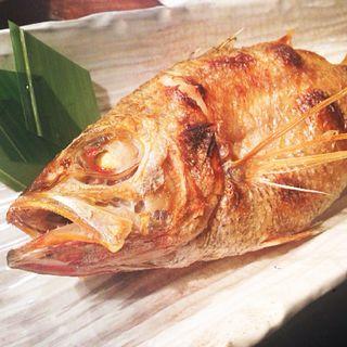 ノドグロ塩焼き(魚哲)
