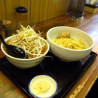 味噌つけ麺  味付け玉子トッピング(味噌麺処 花道 (みそめんどころ はなみち))