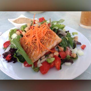 Grilled Salmon Salad(Kala Eatery)