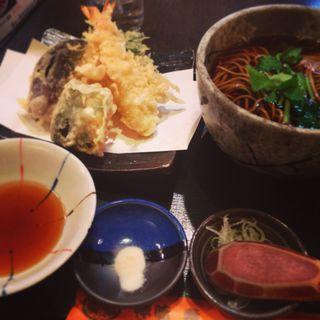海老天蕎麦(朝日屋 )