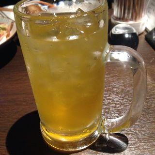 緑茶(花の小町 新宿南口店)