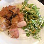 塩鶏の香草オーブン焼き