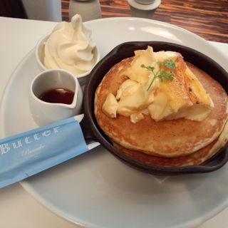 クレームブリュレ窯出しフレンチパンケーキ(Butter 茶屋町 (バター))