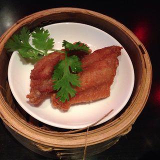 鶏手羽先の香港式海老味噌香り揚げ(チャイナルーム (Chinaroom))