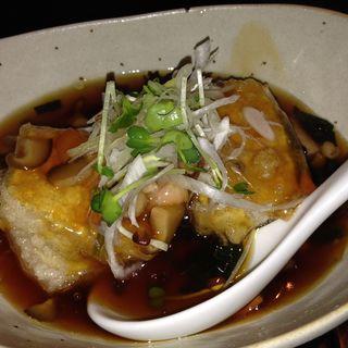 揚げ出し豆腐の野菜あんかけ(キレイになるための食卓)
