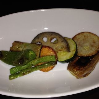 有機温野菜サラダ(キレイになるための食卓)