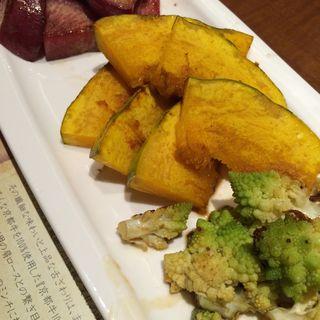 本日のグリル野菜盛り合わせ(3種盛り合わせ)(HAMBURG LABO (ハンバーグ ラボ))
