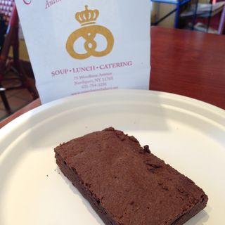 brownie(Copenhagen Bakery)