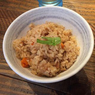 鶏炊きご飯(鶏そば十番156 麻布十番本店 (鶏蕎麦十番ICHIKORO))