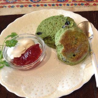 抹茶と黒豆のスコーン(ライフラプサン)