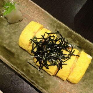 明太子チーズのだし巻き玉子(ことすし )