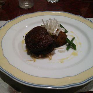 牛フィレステーキ(レストランウチエ)