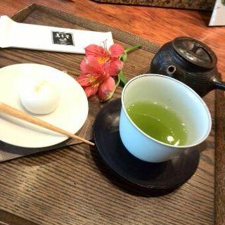 お菓子付き新茶セット(寿月堂 )