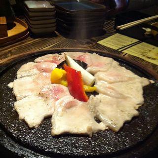 秋田県産豚ロースの鳥海山溶岩焼(なまはげ 銀座店 (ナマハゲ))