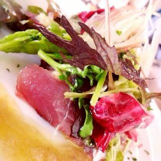 魚のカルパッチョ(torimo)