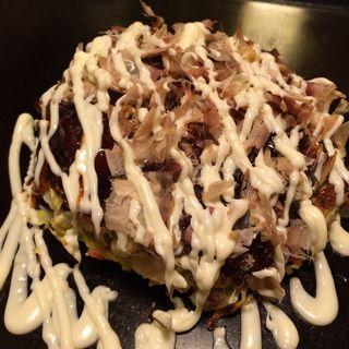 明太餅チーズのお好み焼き(ろくもんや 本店 )