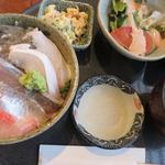生しらす海鮮丼