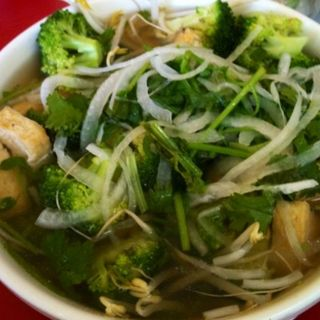Tofu and Broccoli Pho(Tapioca & Pho)