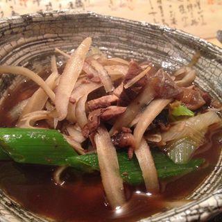 鮪尾肉の椀もの(東日流旬彩しみず)