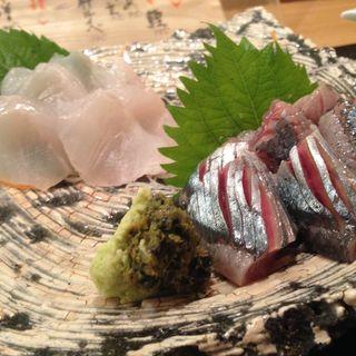 秋刀魚お造り(東日流旬彩しみず)