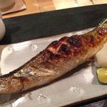 秋刀魚汐焼き