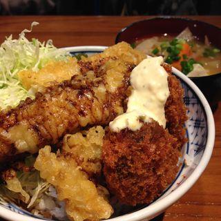 日替わり天丼(ぼんてん漁港 一番町芭蕉の辻店 )