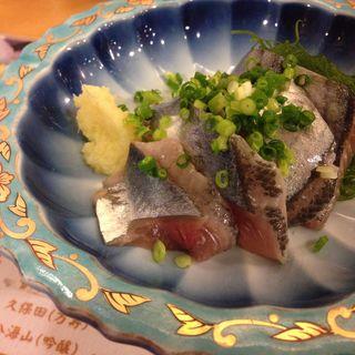 秋刀魚刺し(恵比寿 )