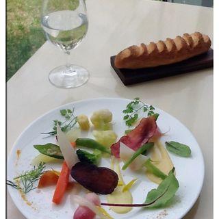 美瑛産野菜20種類のサラダ(アスペルジュ)