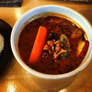 チキンカレー(スープカレー&和dining つばらつばら)